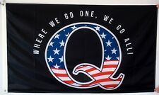 QAnon WWG1WGA Flag Q American Trump 3X5FT banner US Seller