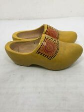 Vintage Hand Crafted Wooden Clog Shoes