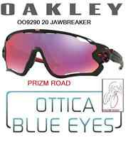 Occhiali da Sole Oakley 9290 20 JAWBREAKER BLACK PRIZM ROAD Sport Sunglasses
