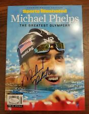 MICHAEL PHELPS Autograph 2016 Sports Illustrated JSA Certified Greatest Olympian
