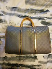 Auth Gucci GG Rainbow Large Boston Bag Tote Satchel Sold Out