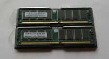 Arbeitsspeicher 2GB DDR 333 Speicher PC2700 RAM PC333 DDR1 2x 1 GB DDR333