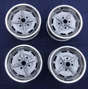 Porsche 914-4 Stamped Steel Wheels w/ Beauty Rings-Set of 4 - 5 1/2 x 15