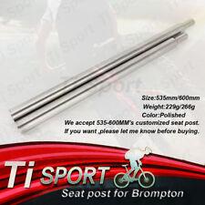 pair excl adhesive Brompton seat pillar sleeve set