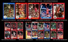 Michael Jordan Fleer Rookie Star RP Lot 23!!