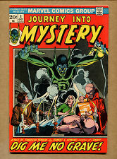 Journey Into Mystery #1 - Story By Robert E. Howard - 1972(Grade 8.0) WH