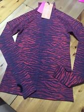 KENZO X H&M Pullover shirt rot wool rot tiger EUR Gr. 34 size US 4 size UK 8