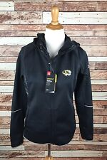 Under Armour University Of Missouri MU Tigers Women's Small Black Jacket NWT