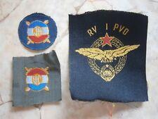 JNA YUGOSLAVIA Serbia army patch lot 3 NAVY MILITARY EMBLEM AIR FORCE PILOT 1964