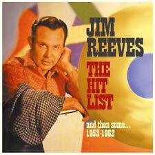 JIM REEVES - HIT LIST   CD NEUF