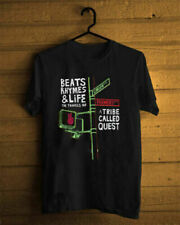 Summer A TRIBE CALLED QUEST Band Cotton Black T-Shirt Regular Size S-3XL HOT!