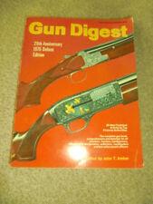 Gun Digest 29th Anniversary 1975 Deluxe Edition John T Amber
