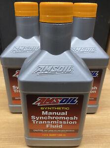 AMSOIL Manual Synchromesh Transmission Fluid 1 quart sae 5w 30