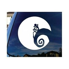 Nightmare Before Christmas Decal JACK AND THE MOON Vinyl Car Laptop Sticker
