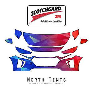 PreCut 3M Scotchgard Paint Protection Film Clear Bra for Hyundai Ioniq 2017-2020