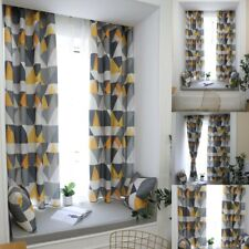 Modern Geometric Print Curtains For Living Room Bedroom Window Drapes Home Decor