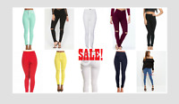 Brand New Ladies High Waisted Skinny stretchy Jeans Jeggings Pants, size 6-16