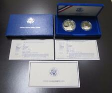 1986 Commemorative Statue of Liberty * 2 Coins * Proof * With Box & COA
