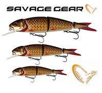 Savage Gear 4Play Herring Lowrider 9,5cm 13cm 19cm Hard Lures Predator Fishing