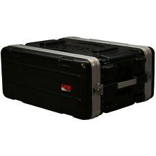 "Gator GR-4S 4 Space 14.5"" Deep Effects Rack ABS Road Case"