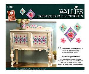 Wallies Wallpaper Cutouts 25 X Harlequine Rose Wall Decal Furniture Decoupage