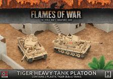 Flames of War GBX99 - Afrika Korps Tiger 1 e Heavy Tank Platoon (Plastic, x2)