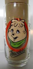 VINTAGE! 1985 Hardee's The Chipmunks Glass-Theodore