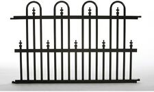 Aluminum Fence Panel Above Ground Decorative Outdoor yard Garden Gate Fencing