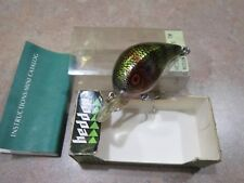 HEDDON HEDD-HUNTER LURE W/BOX INSTRUCTIONS/MINI CAT.