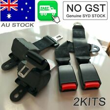 2Kits For Toyota Cars Universal Adjustable Seat Belt Strap Retractable Seatbelt