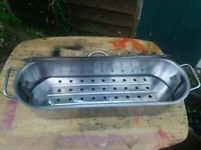Large Catering Stainless Steel Fish Steamer