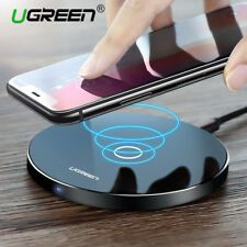 Wireless Charger Fast Qi 10W  for iPhone X 8 Plus Samsung Galaxy S8 S9 S7 Edge