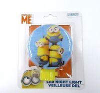 Despicable Me Minion 3 Minions Led Night Light Hallway Kids Bedroom Fun Cute New