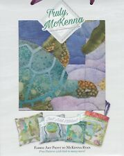 The Nerdles, Truly McKenna Art Fabric Print by McKenna Ryan, Sea Breeze Turtle