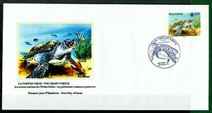 Seychelles FDC 2014 - Sea turtle