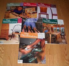 7 FINE WOODWORKING MAGAZINES: JUNE 1991 - OCT 1993, VERY GOOD CONDITION