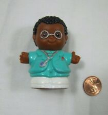 Fisher Price Little People MICHAEL Physician EMT PARAMEDIC NURSE DOCTOR Rare!