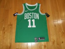 e59b30de1d6 New Nike KYRIE IRVING Green BOSTON CELTICS #11 Mens NBA Team Swingman JERSEY  48