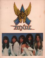 ANGEL 1979 WHITE HOT TOUR CONCERT PROGRAM BOOK BOOKLET / PUNKY MEADOWS / EX 2 NM