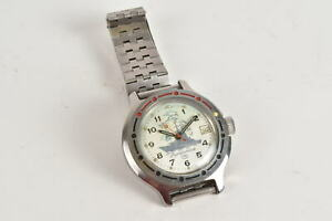 Amphibia Vostok Wostok Russische Automatik Armbanduhr Vintage Datum Werk läuft a