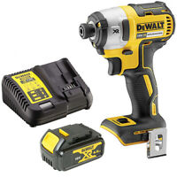 Dewalt DCF887 18V Brushless Impact Driver 3 Speed + 1 x 4ah Battery & Charger