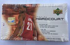 2003-04 Upper Deck HardCourt Basketball Hobby Box Lebron Wade Carmelo Bosh