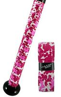 VULCAN ADVANCED POLYMER BAT GRIPS - LIGHT 1.00 MM - PINK CAMO