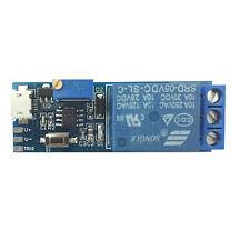 Wide voltage 5V~30V trigger delay relay module timer module