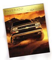 Big 2000 Chevy SILVERADO PickUp Truck Brochure/Catalog:LS, LT,1500,2500,4x4,