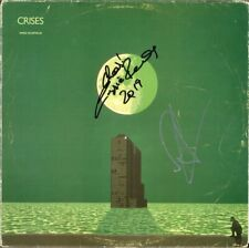 MIKE OLDFIELD Crises VINYL LP Moonlight Shadow MAGGIE REILLY +1 Autograph SIGNED