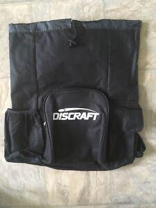 Discraft Disc Golf Bag, Holds 10-12 Discs, Black, Cup holder, adjustable