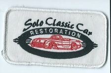 Solo Classic Car Restoration employee patch 2-1/2 X 4-3/8