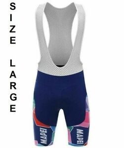 Bicycle Mapei Mens Bib Shorts with Pad size L