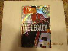 TV GUIDE DALE EARNHARDT JR. THE LEGACY FEBRUARY 2002